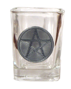 Celtic Ireland Shot Glass 2oz. Irish Celtic Star