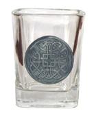 Celtic Ireland Shot Glass 2oz Eternity Knot