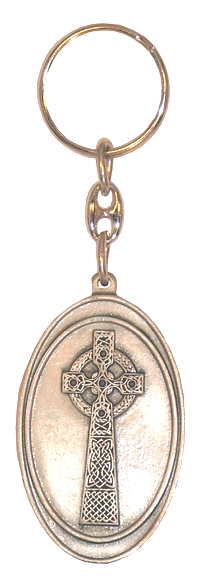 Celtic Cross Irish Celtic Keychain