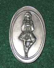 Celtic Ireland Refridgerator Magnet Irish Dancer