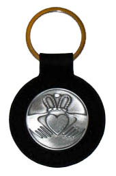 Claddagh Irish Celtic Keychain