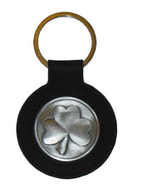 Shamrock Irish Celtic Keychain