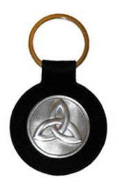 TRINITY KNOT Irish Celtic Keychain