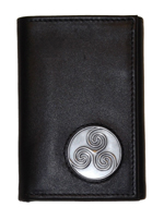Water Spiral Trifold Wallet